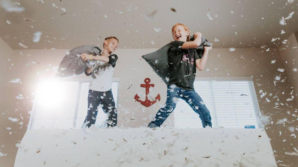 Entrena con tu hijos: ejercicios para hacer en casa con los niños