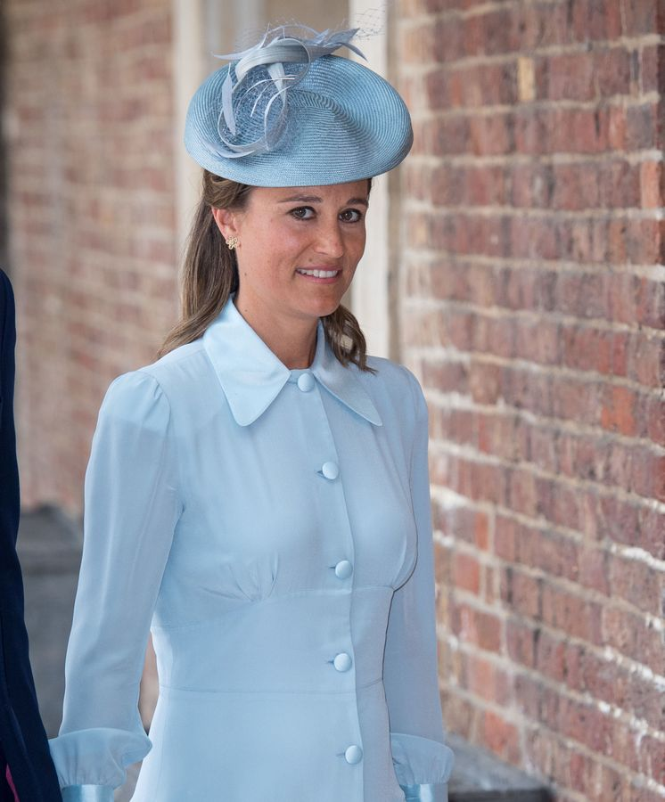 Foto: Pippa Middleton, llegando al bautizo de Louis.