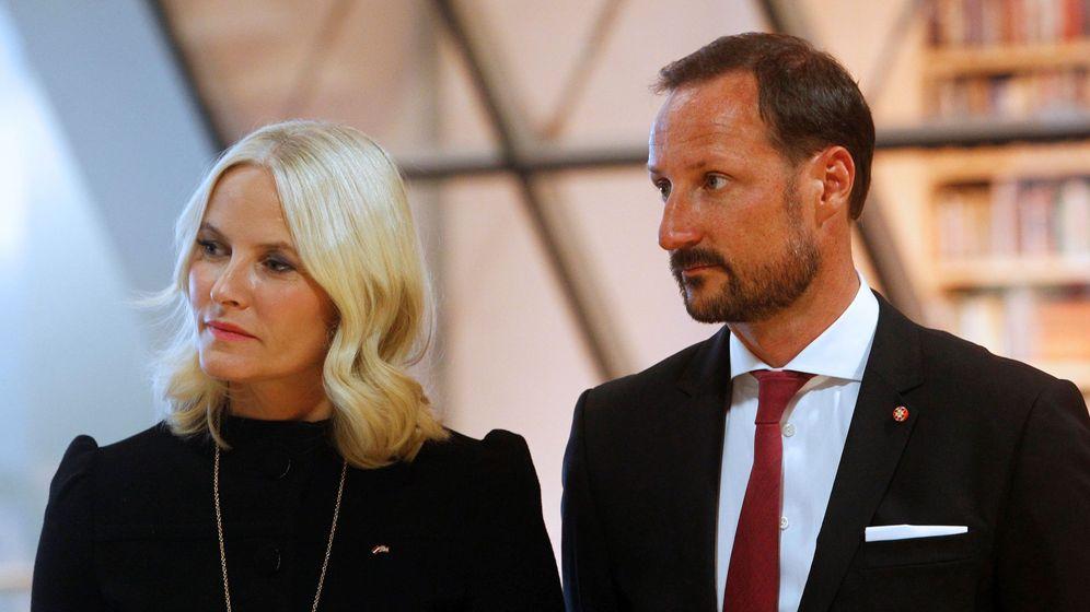 Foto: Haakon de Noruega y la princesa Mette-Marit en una imagen de archivo. (EFE)