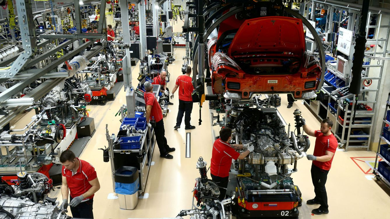 La producción industrial alemana registra su mayor caída desde 2009