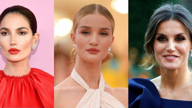 Lily Aldridge, Rosie Huntington Whiteley y la reina Letizia. (Getty/Cordon Press)