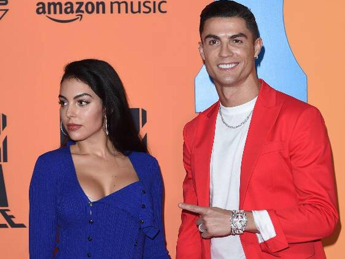 Foto: Georgina y Cristiano, en una imagen de archivo. (Getty)