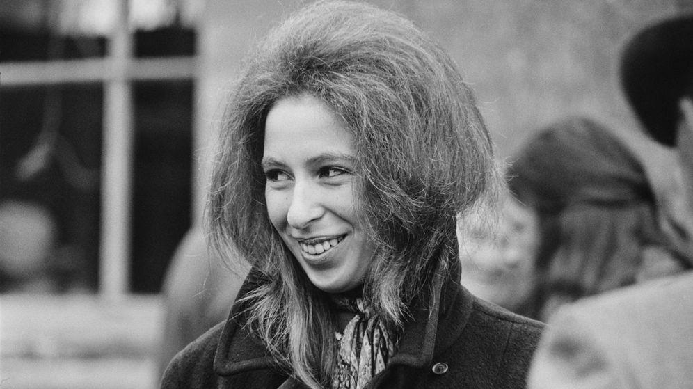 Foto: La princesa Ana, en una imagen de 1971. (Getty)
