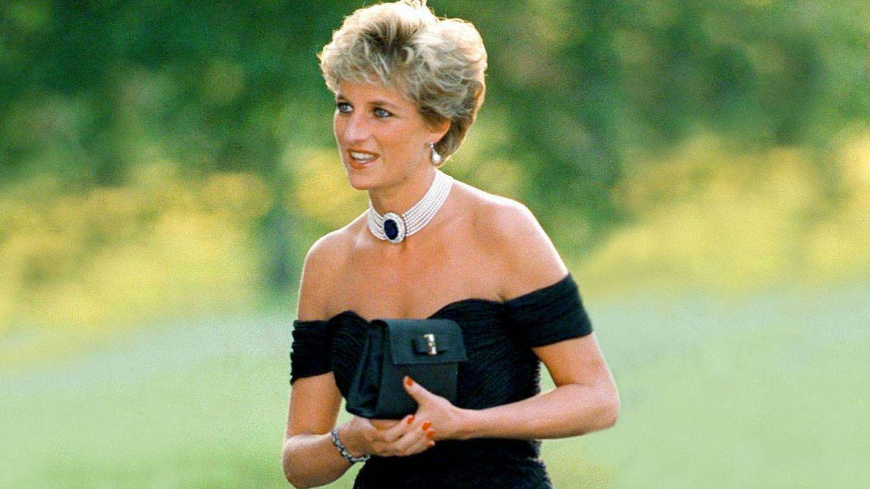 El maquillaje de Diana de Gales, el día del vestido de la venganza. (Cordon Press)
