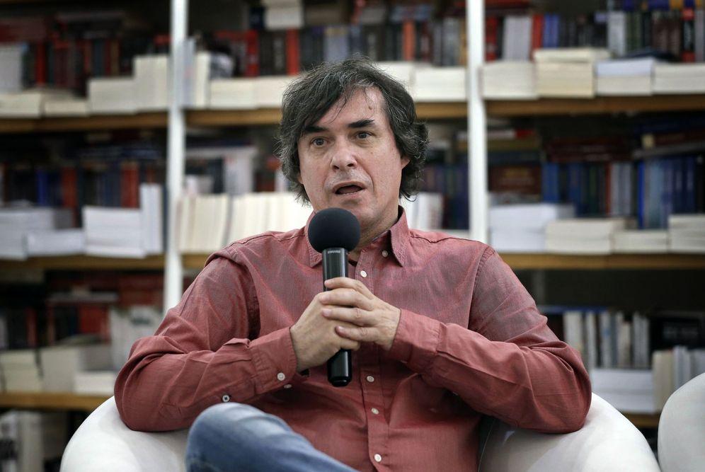 Foto: Mircea Cartarescu, ganador del premio Formentor (EFE)