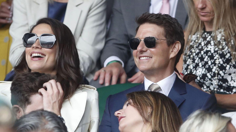 Tom Cruise, en Wimbledon. (Reuters)