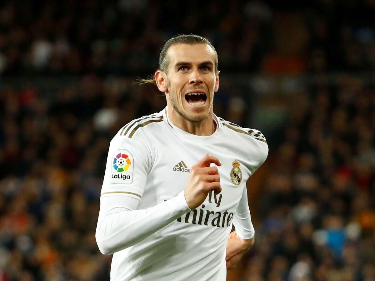 Foto: Gareth Bale durante un partido con el Real Madrid. (Efe)