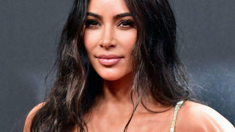 Foto: Kim Kardashian, esta semana en unos premios. (Getty)