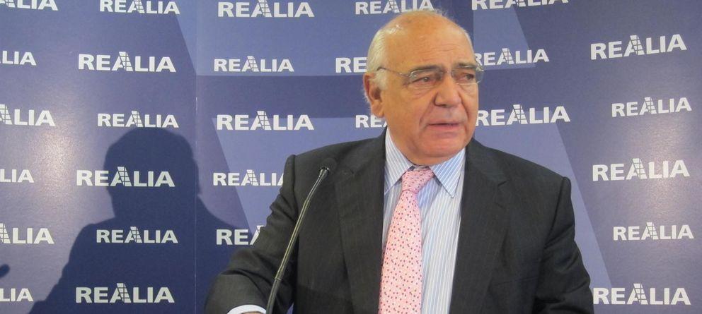 Foto: El presidente de Realia, Ignacio Bayón (EFE)
