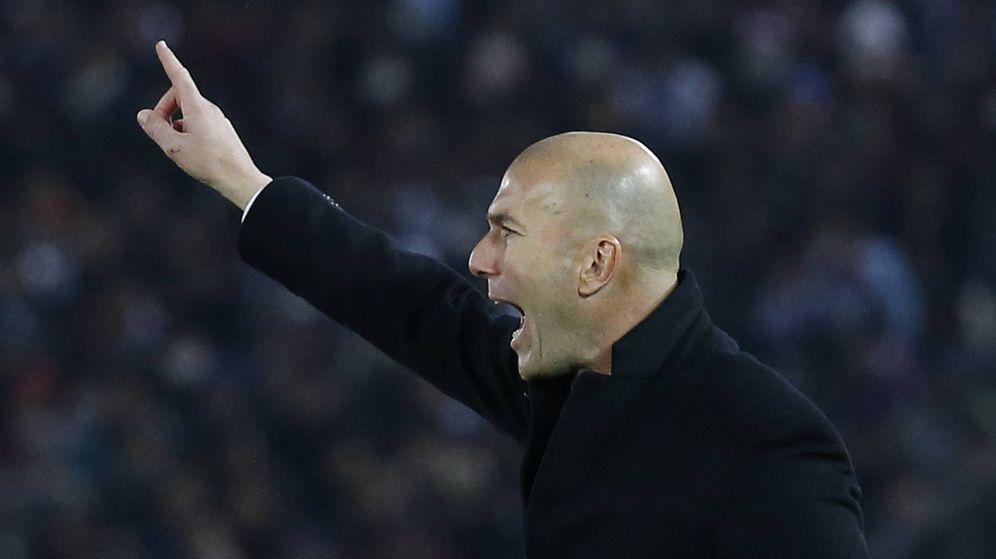 Foto: Zidane está guiando al Madrid hacia las cotas más altas. (Reuters)