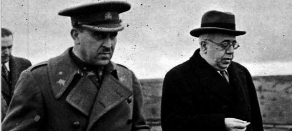 Franco humilla a Rojo en el Diccionario Biográfico Español