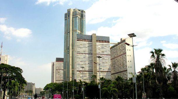 Foto: Las Torres de Parque Central, donde se encuentra Anauco Suites