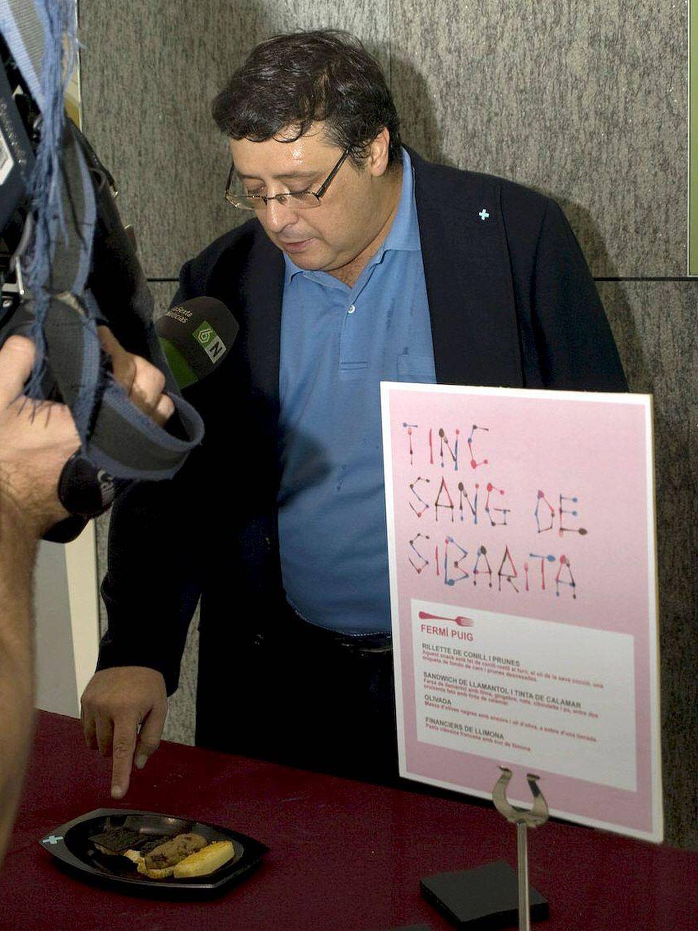 El cocinero Fermí Puig en una imagen de archivo. (EFE)