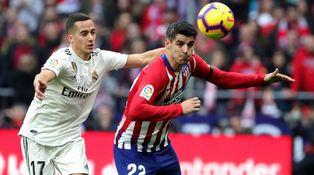 Lo único que ha frenado el brillante debut de Morata con el Atlético de Madrid