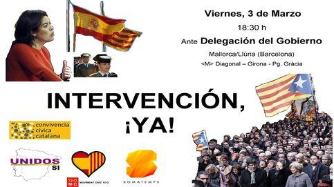 Escindidos de Podemos y la derecha extrema piden intervenir Cataluña