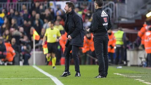 Simeone se hartó del 'buenismo' del Atlético