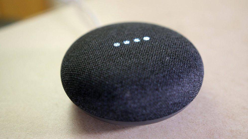 Foto: El Google Home Mini.