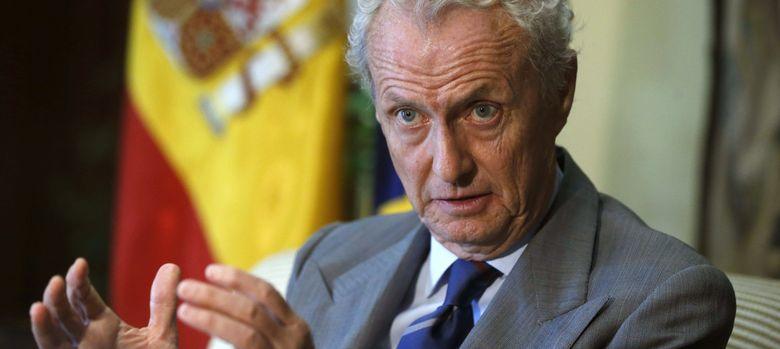 Foto: El ministro de Defensa, Pedro Morenés. (EFE)