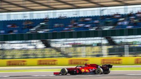 Ferrari nos engañaba en Silverstone pero una bala rebotada le pegó a Carlos Sainz