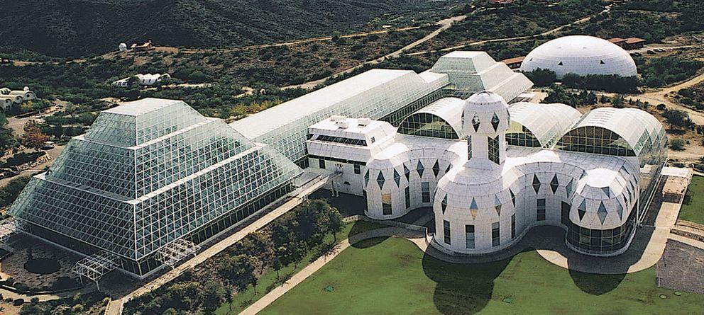Foto: Biosfera 2: el experimento que quiso recrear la Tierra y terminó como Gran Hermano