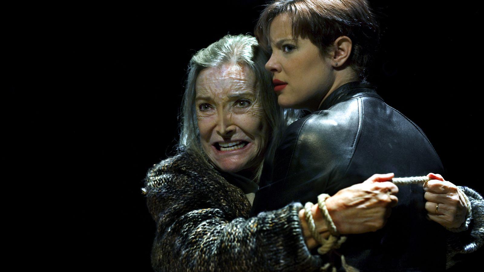 Foto: Nuria Espert se metió en la piel del rey Lear. (Ros Ribas)