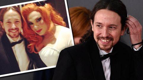 Pablo Iglesias en la gala de los Goya: selfies, cerveza y Nacha la Macha