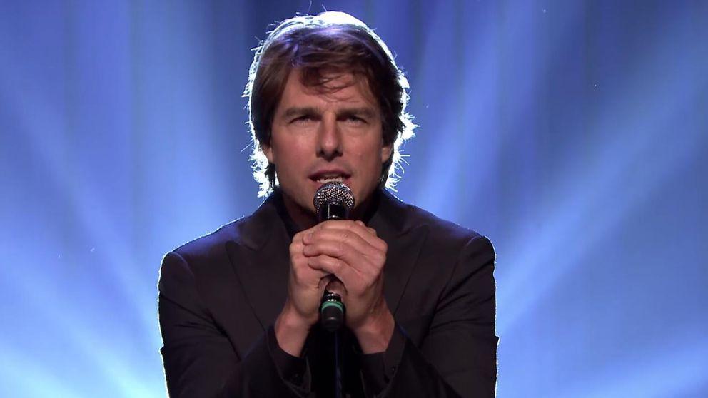 El cantarín homenaje de Tom Cruise a la película 'Top Gun'