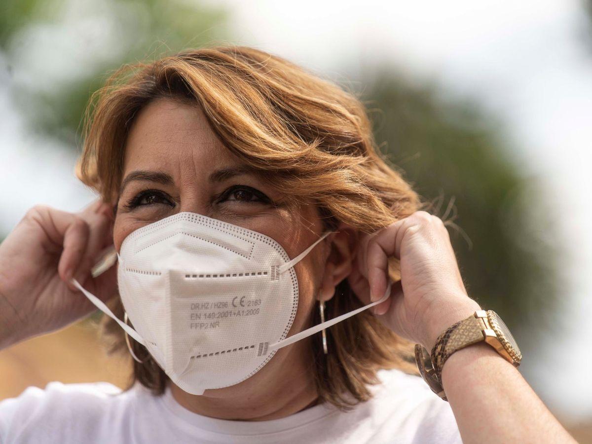 Foto: La expresidenta andaluza Susana Díaz. (EFE)