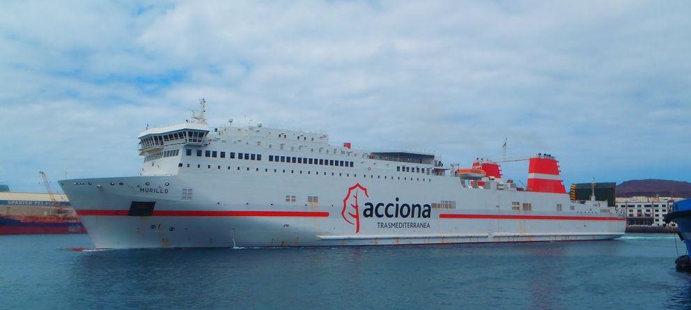 Foto: Ferry Acciona Trasmediterránea.