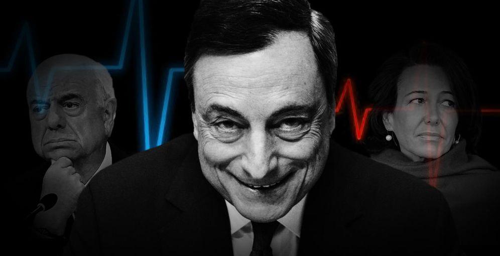 Foto: La banca española sí que es diferente y, si no, que venga Draghi y lo vea