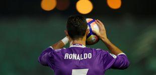 Post de Cristiano Ronaldo, Balón de Oro de la solidaridad