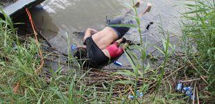 Post de Valeria y su papá: el drama de los migrantes centroamericanos en una foto