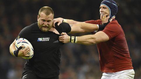 Hasta los 'gordos' de los All Blacks humillaron a Francia con sus carreras