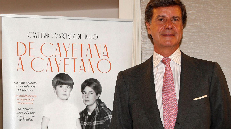 Cayetano Martínez de Irujo presenta sus memorias, 'De Cayetana a Cayetano'. (EFE)