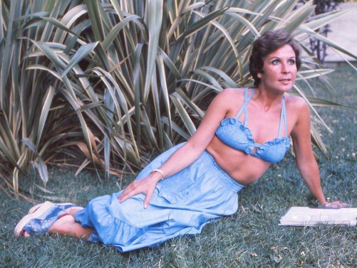 Foto: Lina Morgan, en una imagen de 1975. (Getty)