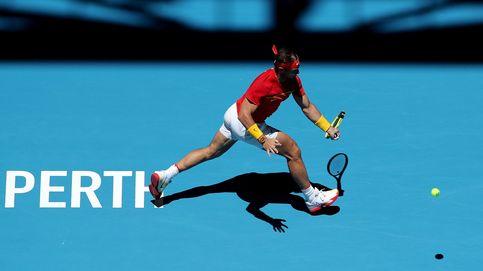 Nadal sufre más de lo previsto para meter a España en cuartos de la Copa ATP