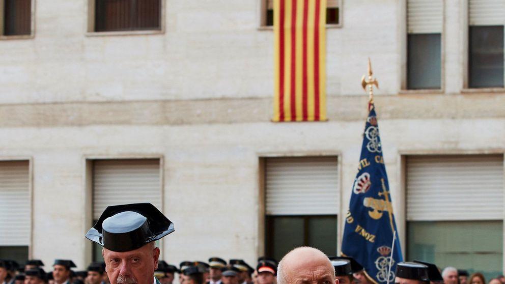 La cúpula de los Mossos abandona ofendida el acto de la Guardia Civil en Barcelona