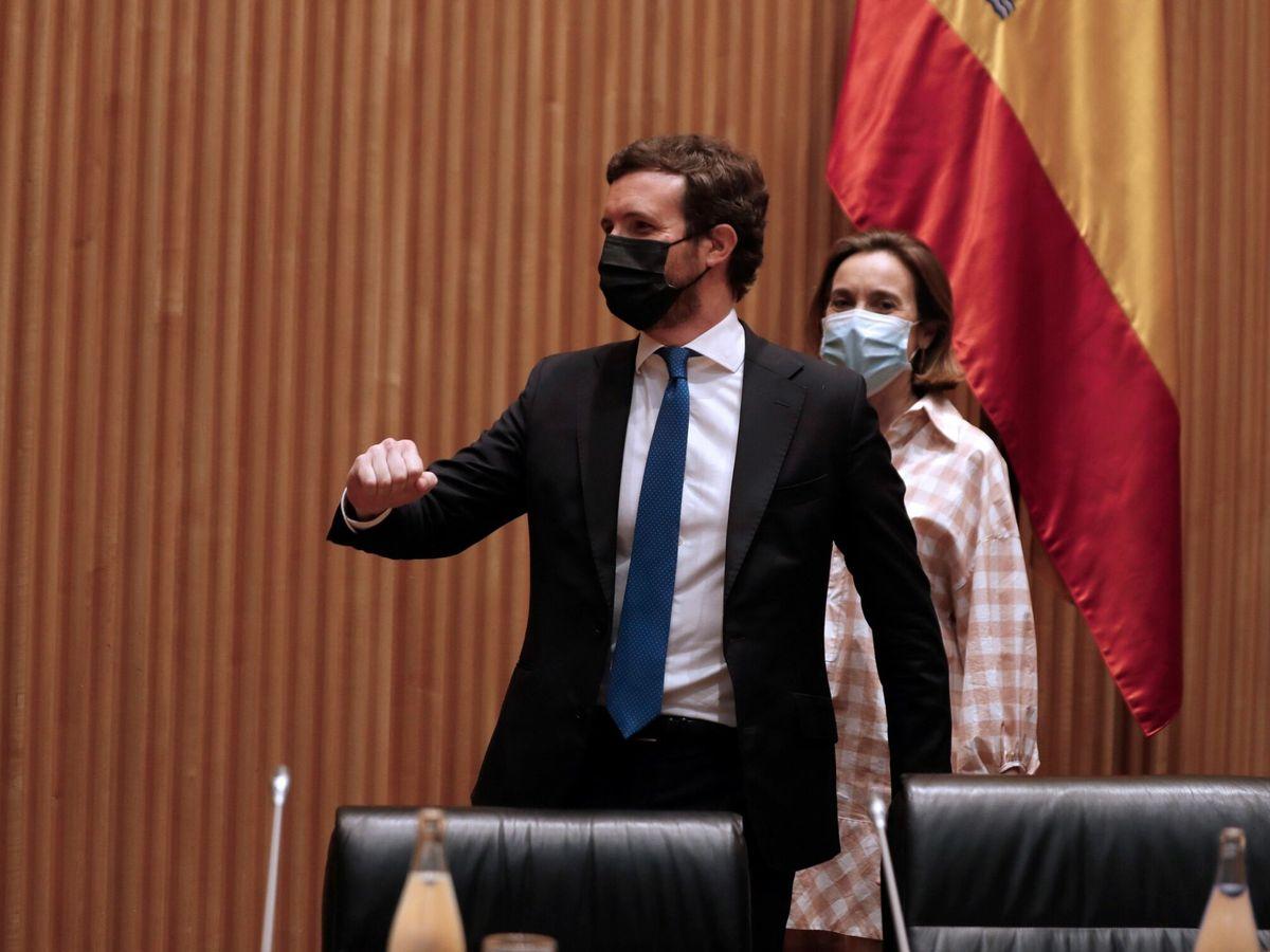 Foto: Pablo Casado, líder del Partido Popular. (EFE)