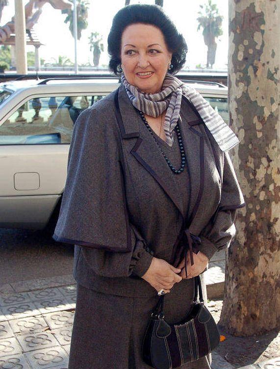 Montserrat Caballé en una imagen de archivo. (Gtres)