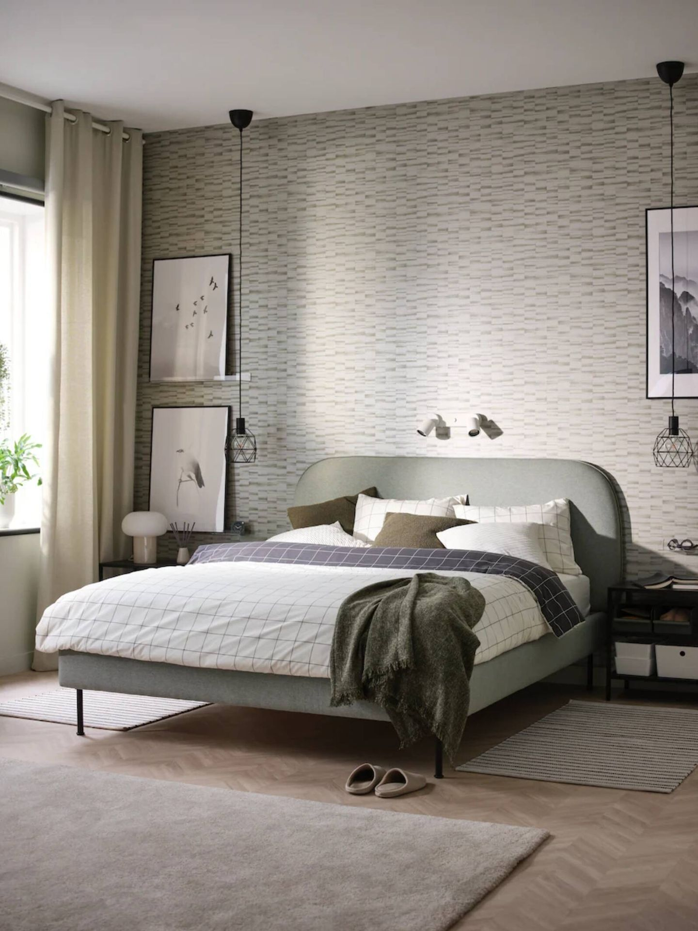 Decora un dormitorio con las ideas de Ikea. (Cortesía)