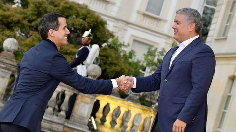 Guaidó desafía al régimen de Maduro y viaja a Colombia a una cumbre antiterrorismo