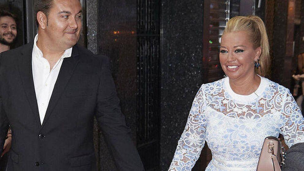 Belén Esteban y los dos vestidos de novia que lució en su boda