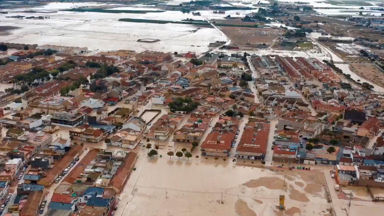 Foto: Inundaciones en Murcia (EFE)