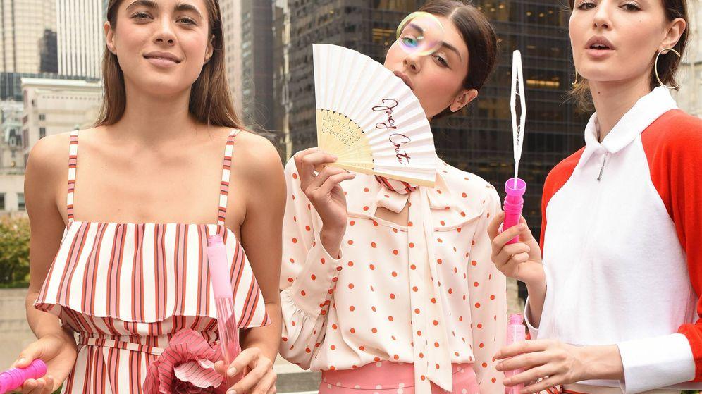 Foto: Modelos, en la presentación de Juicy Couture (Getty Images).