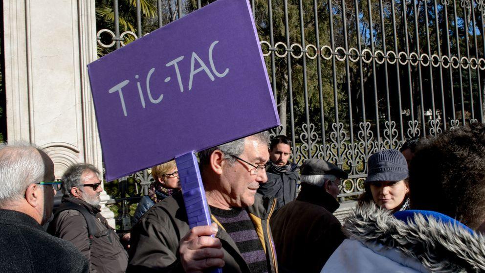 Las elecciones andaluzas ponen a sonar el 'tic, tac' de Pablo Iglesias
