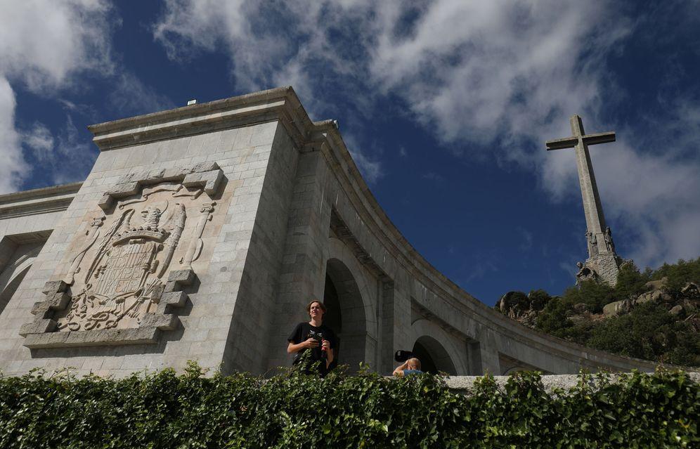 Foto: La basílica del Valle de los Caídos, donde aún yace Francisco Franco, el pasado 24 de septiembre. (Reuters)