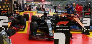 Post de Fórmula 1: gran pole de Hamilton y Carlos Sainz se exhibe bajo la lluvia (3º)