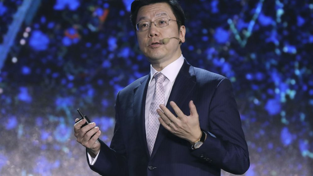 Foto: Kai-Fu Lee durante la Conferencia de Internet Móvil Global en Pekín, China. (EFE)