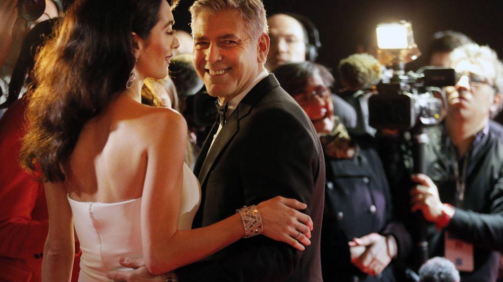 Foto: George Clooney y Amal Clooney en una imagen de archivo. (Gtres)