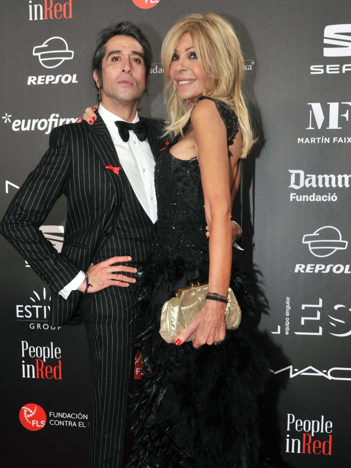 Mario Vaquerizo y Bibiana Fernández. (Cordon Press)